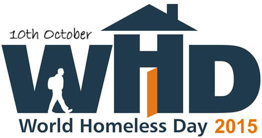 World Homeless Day 2015 Official Logo